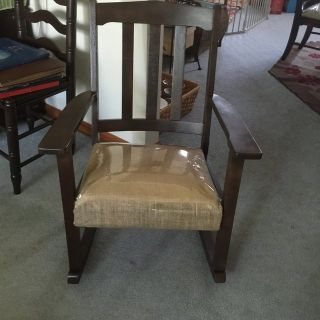 Antique Rocking chair refinished