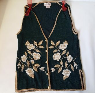 Ugly Christmas Snowman Vest