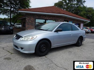 2005 Honda Civic LX (Satin Silver Metallic)