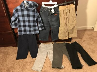 Boys winter clothes size 3T