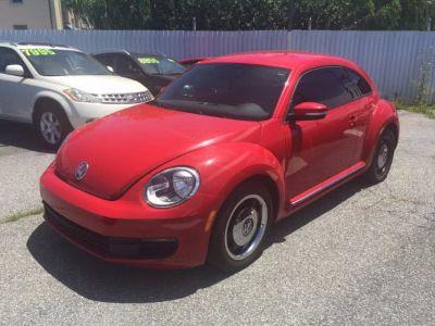 2012 Volkswagen Beetle 2.5 PZEV (RED)