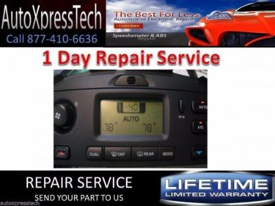 Purchase 2002 Jaguar Climate Control Repair Service Heater AC Head s-type 05 1 DAY FAST motorcycle in Holbrook, Massachusetts, United States, for US $54.99