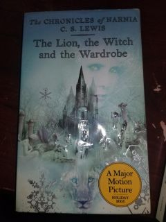 Paperback book The Lion the Witch and the Wardrobe