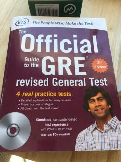 Official GRE Guide (ETS)