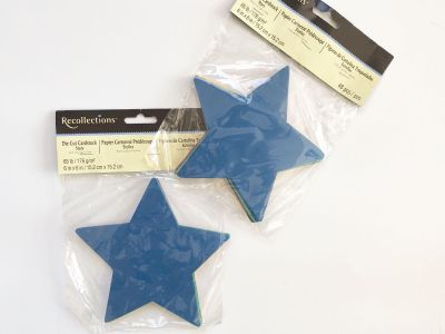 Brand New Recollections Die Cut Stars in Mixed Colors