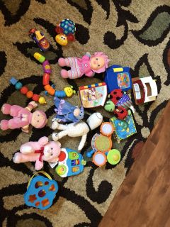 Huge toy lot, batteries included