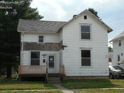 3 Bed 1 Bath Foreclosure Property in Fremont, OH 43420 - S Wayne St