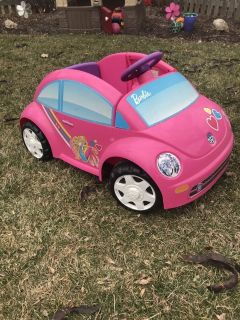 Power wheels Barbie car with charger