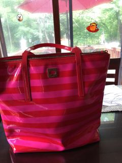 pink/red Kate Spade tote (little mark on back in pic)