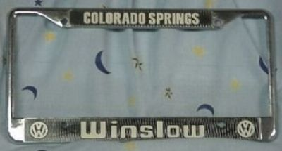 [WTB] Phil Winslow License Plates Frame