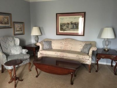 Queen Anne Furniture Solid Cherry Wood