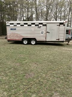 1992 Timberwolf Enclosed Car Hauler Trailer