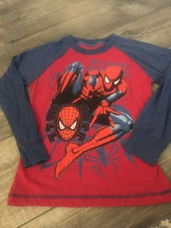 New never worn Spider-Man long sleeve tee. $1. Size 6-7. PPU Stonegate.
