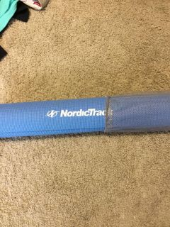 NEW! NORDICTRACK EXERCISE MAT with CARRY BAG