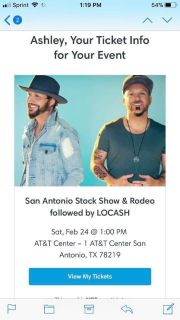 Extreme bull riding and LOCASH