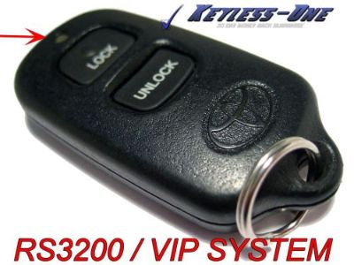 Buy TOYOTA DEALERSHIP PORT INSTALLED RS3200 VIP KEYLESS ENTRY REMOTE OEM RED LED motorcycle in Golden, Colorado, United States, for US $46.95