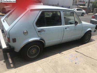 1981 Rabbit Diesel