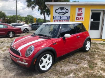 2002 MINI Cooper Base (Red)