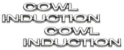 Buy Cowl Induction Hood Emblem Set 1970 1971 1972 Chevelle 1967 1968 1969 Camaro motorcycle in Oklahoma City, Oklahoma, United States, for US $25.00