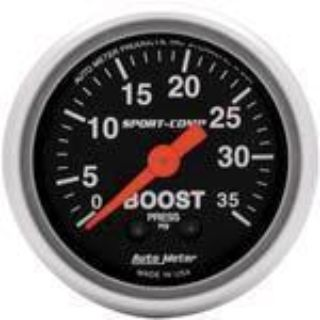 "Find Autometer Sport Comp Series-Boost Gauge 2-1/16"" mechanical 35 psi 3304 motorcycle in Winchester, KY, US, for US $64.57"