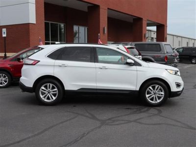 2018 Ford Edge SEL FWD (White)