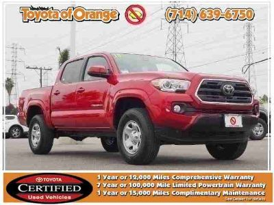 Used 2019 Toyota Tacoma 2WD Double Cab 5' Bed I4 AT (Natl)