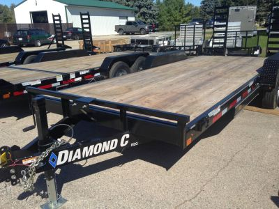2018 Diamond C REQ RANGER 14K EQUIP Equipment Trailer Trailers Elkhorn, WI