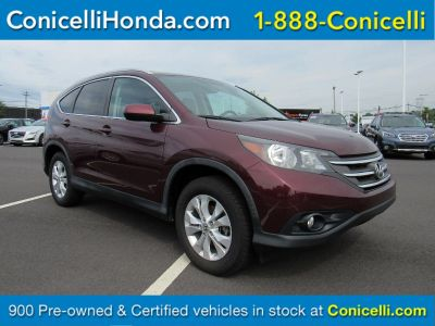 2014 Honda CR-V EX-L (Basque Red Pearl II)