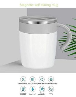 Flyteeth 300ml Self Stirring Coffee Mug- Intelligent Automatic Temperature Control Waterproof Ho...