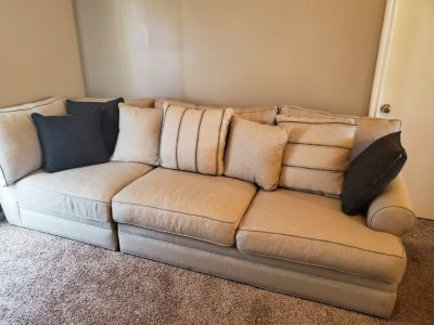 1 couch and 1 love seat
