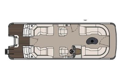 2017 Avalon Catalina Platinum Quad Lounge - 25' Pontoon Boats Boats Clinton Township, MI