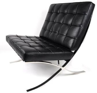 Genuine Leather Barcelona Chairs from $499ea