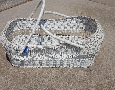 Moses basket. Around 30 inches long