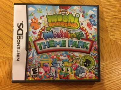 Reduced: Nintendo DS Moshi Monsters Game
