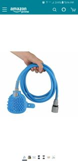 Pet bathing shower sprayer and scrubber New