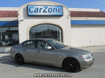 2004 BMW 5-Series 545i with Wood Trim and Sunroof, Mileage: 97,408