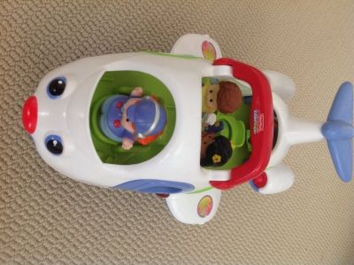 Fisher-Price Lil' People Movers airplane
