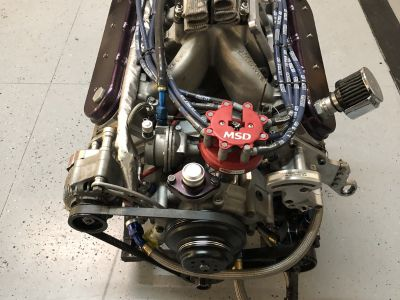 3 Robert Yates Racing K&N engines