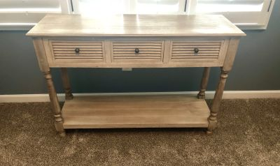 Entry table from Hobby Lobby