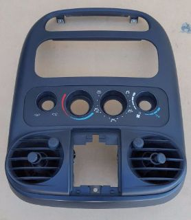 Purchase 01 02 03 04 05 Chrysler PT Cruiser Radio Climate Trim Bezel with Vents Grey motorcycle in Altadena, California, United States, for US $57.99