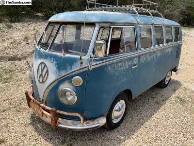 1967 Deluxe Bus, Original Paint