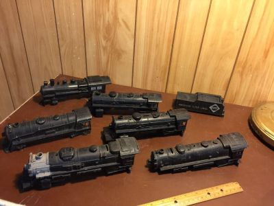 O SCALE TRAIN SHELLS (metal & plastic) all for $10