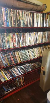 DVD SALE. 25 CENTS EACH TODAY AND TOMORROW