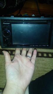 Pioneer touch screen radio