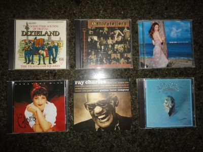 30 original CD's in very good condition - see attached five photographs 16 megapixal