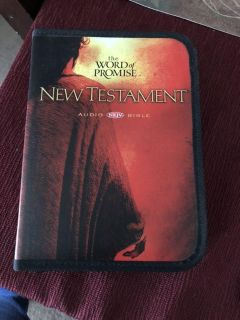The word of promise New Testament Audio NKJV Bible. $10.00
