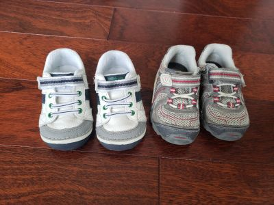 Stride Rite Toddler boys shoes size 4.5 and 5
