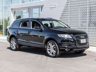 2015 Audi Q7 3.0 quattro TDI Premium Plus (Night Black)