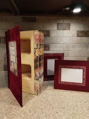 New Photo Display Book with Frames