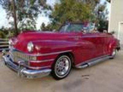 1948 Chrysler Windsor Convertible 350 Chevy